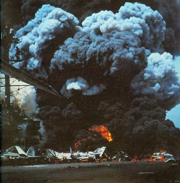 Forrestal Fire