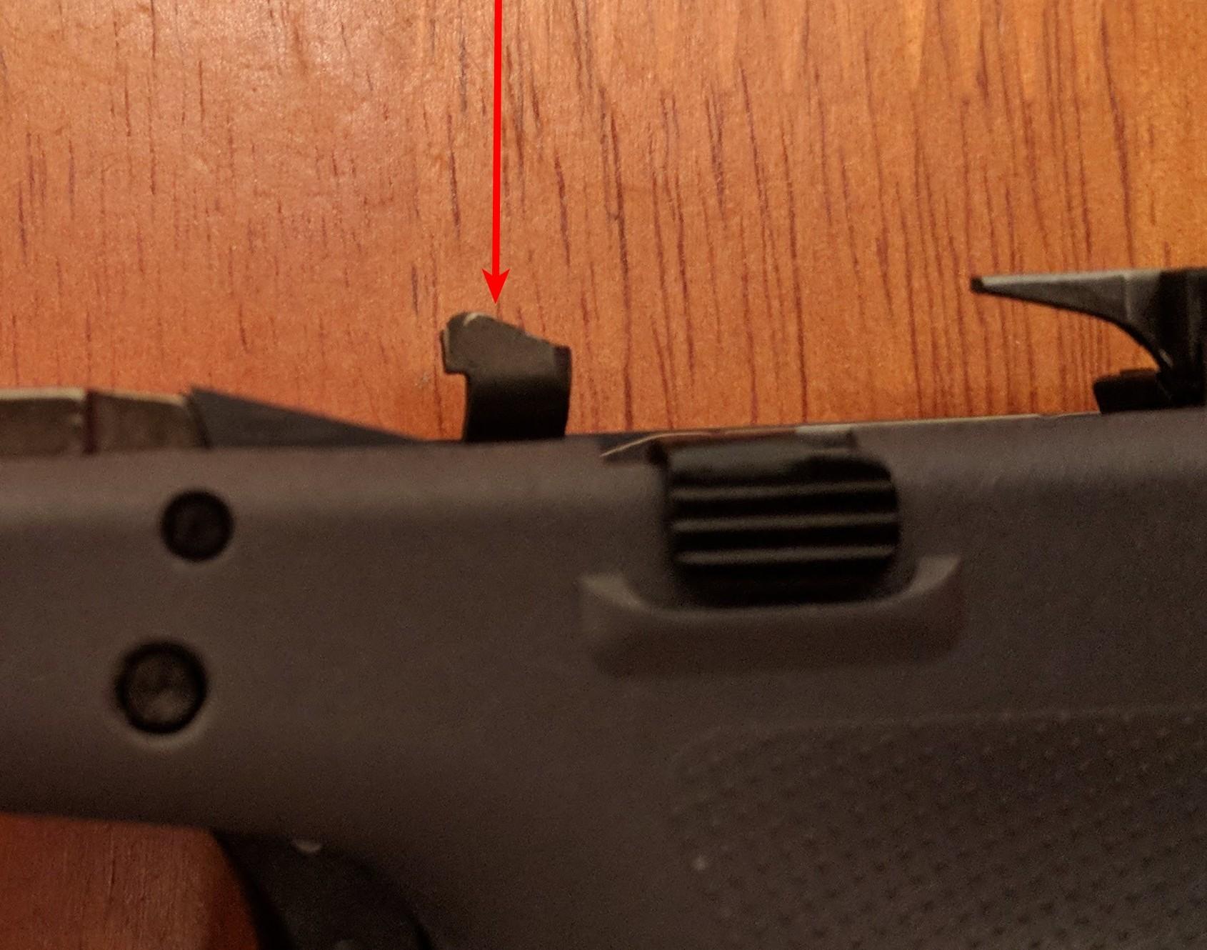glock trigger bar tab