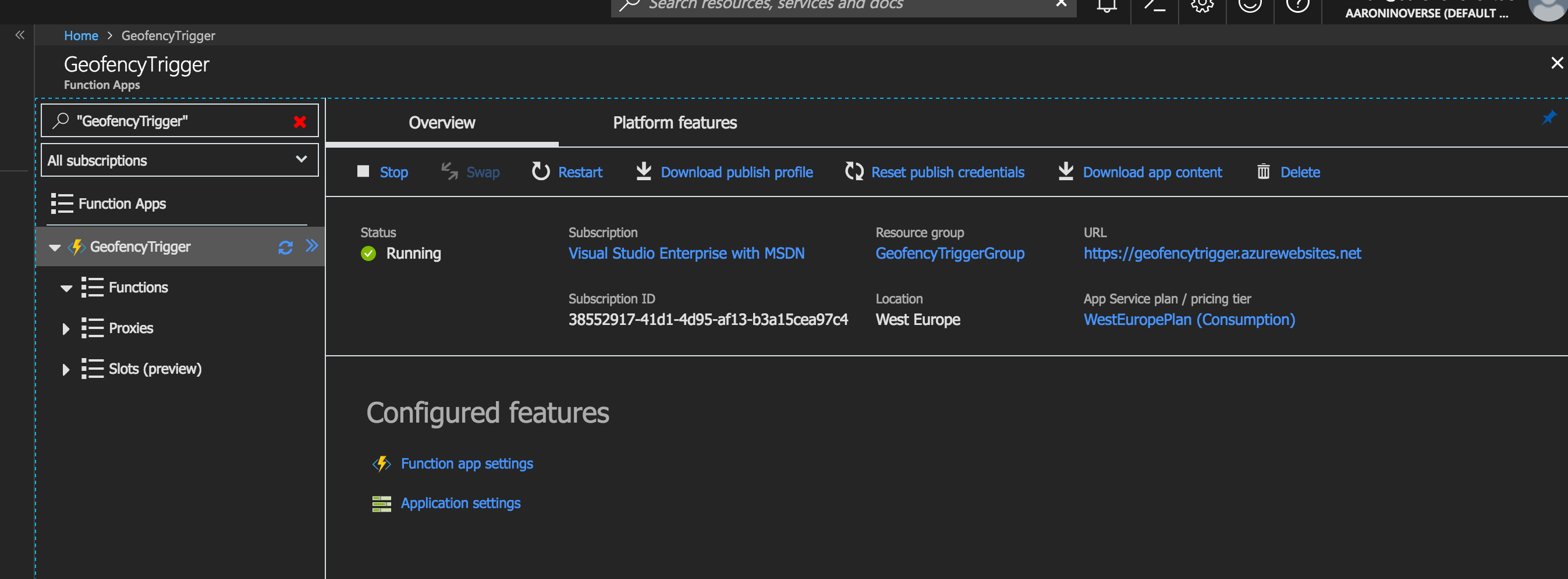 Azure Function App Overview