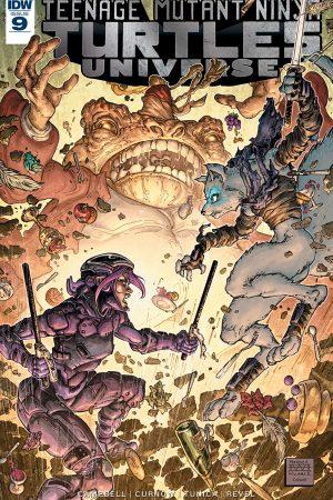 Teenage Mutant Ninja Turtles Universe #9