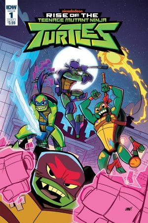 Rise Of The Teenage Mutant Ninja Turtles #1