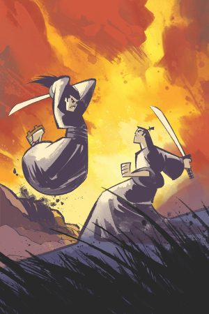 Samurai Jack Lost Worlds #1