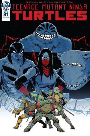Teenage Mutant Ninja Turtles #91