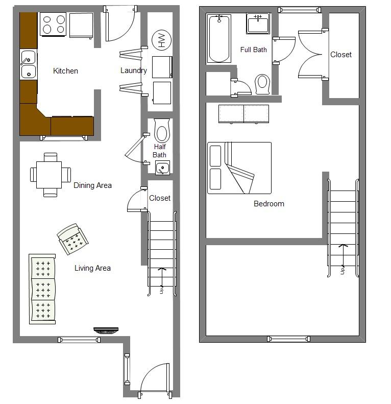 1 Bedroom Loft Apartment: Dalton Ridge Apartments