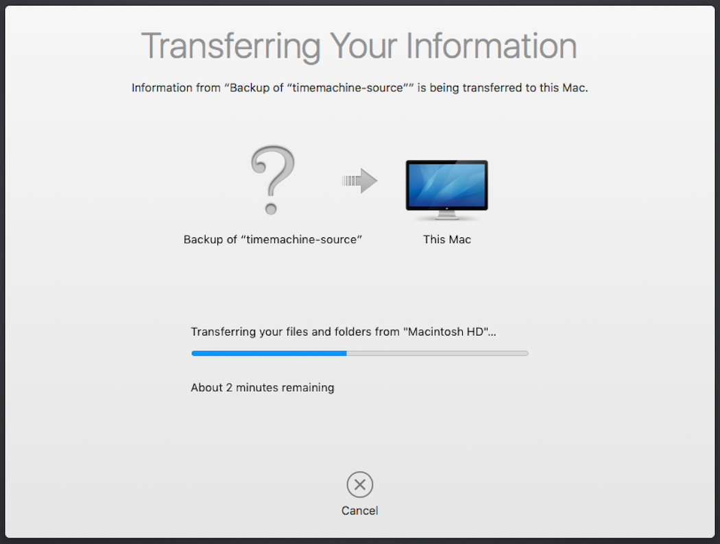 How to restore your Time Machine backup from B2 – Help Desk