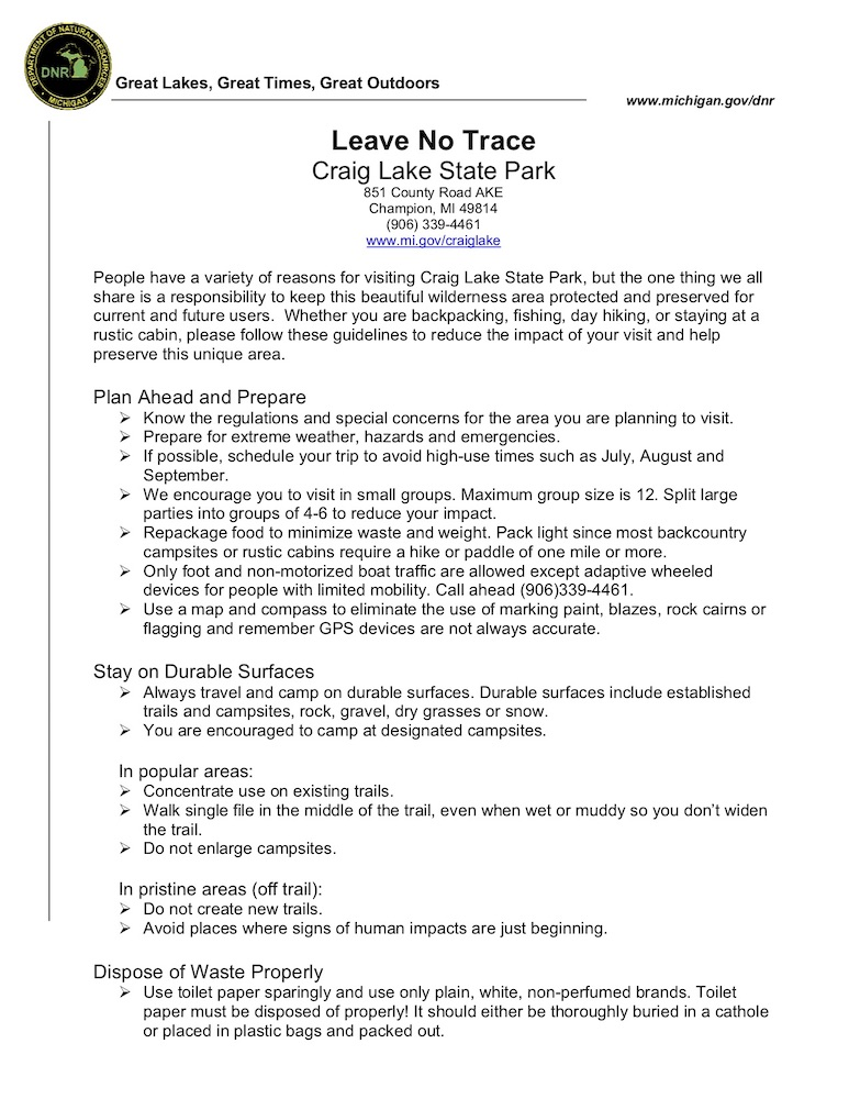Preview image for Leave No Trace Guide resource