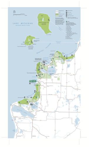 Preview image for Sleeping Bear Dunes NL Map resource