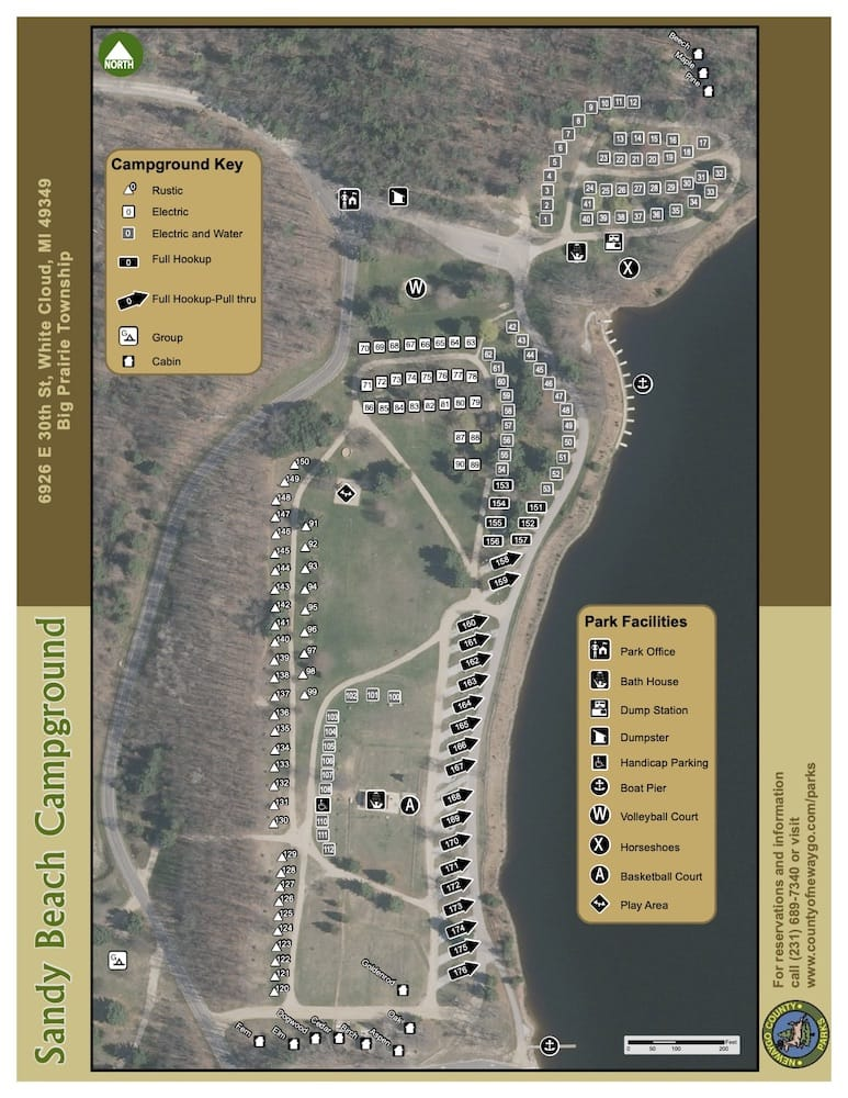 Preview image for Sandy Beach Campground Map resource