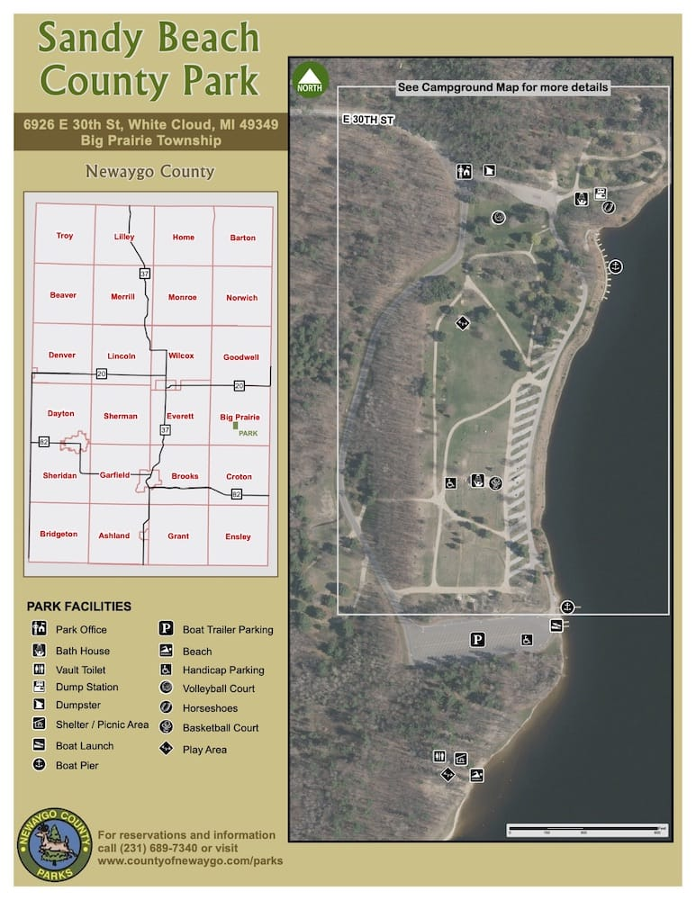 Preview image for Sandy Beach Park Map resource