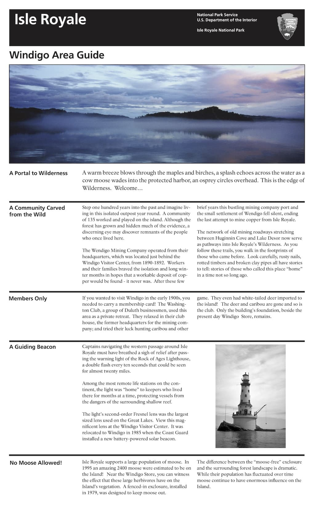 Preview image for Windigo Area Guide resource