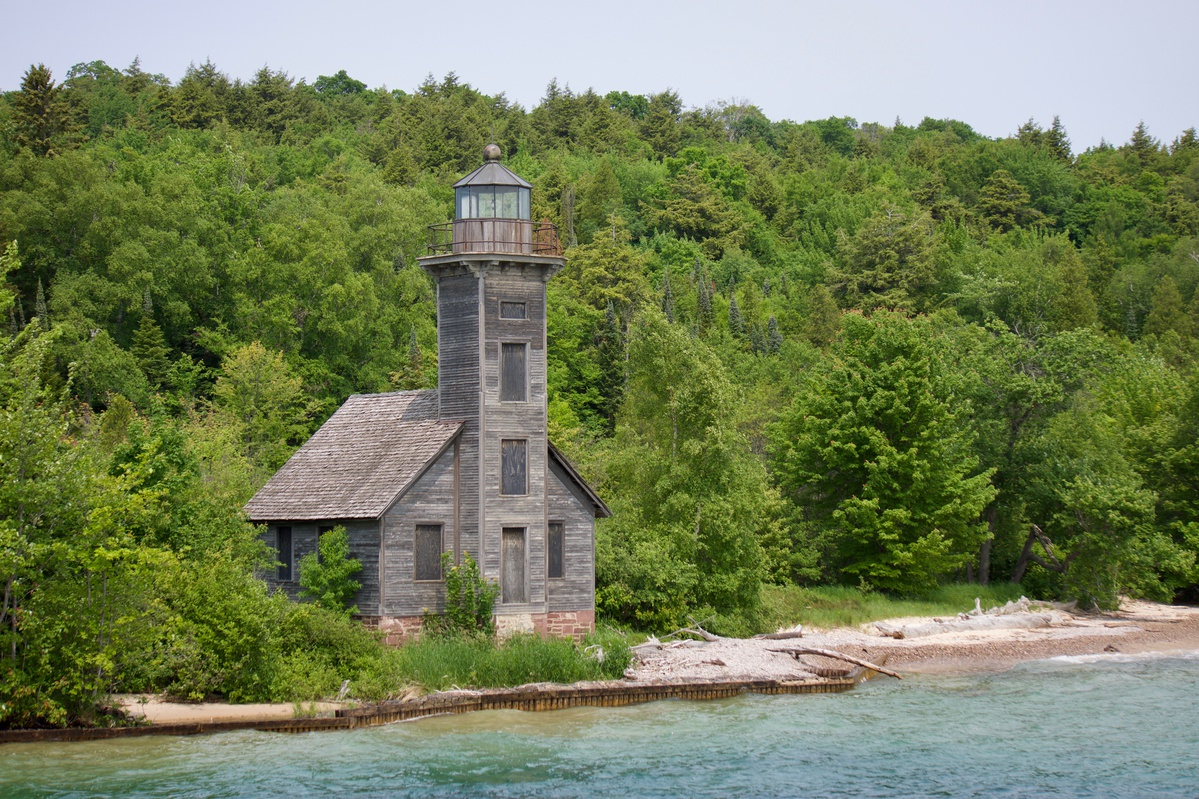 Grand Island East Channel Lighthouse featured image.