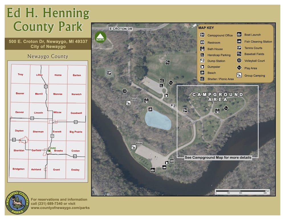 Preview image for Ed Henning Park Map resource