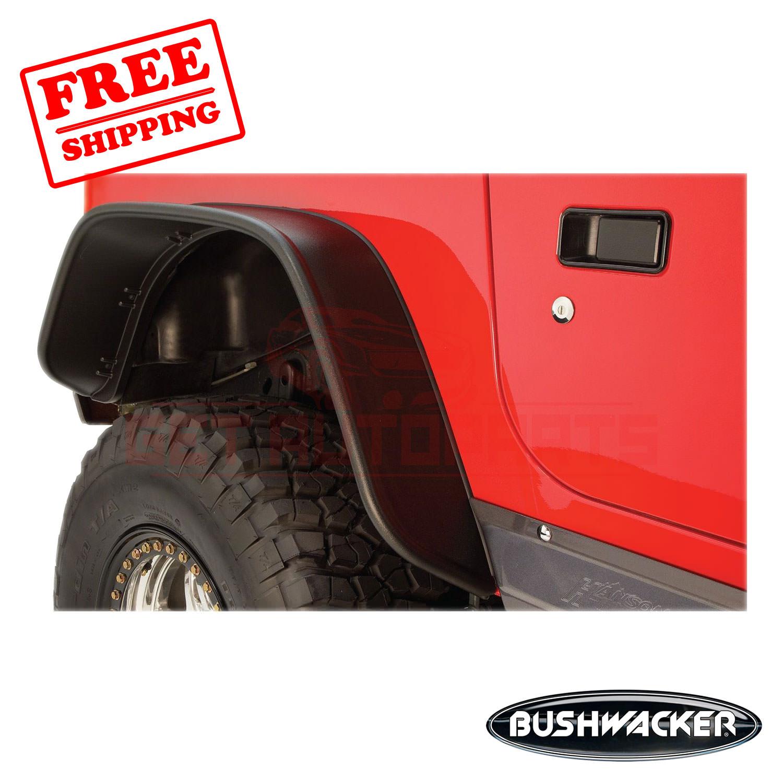 Bushwacker Fender Flare Traseiro Para Jeep Wrangler 1997 2006 Ebay