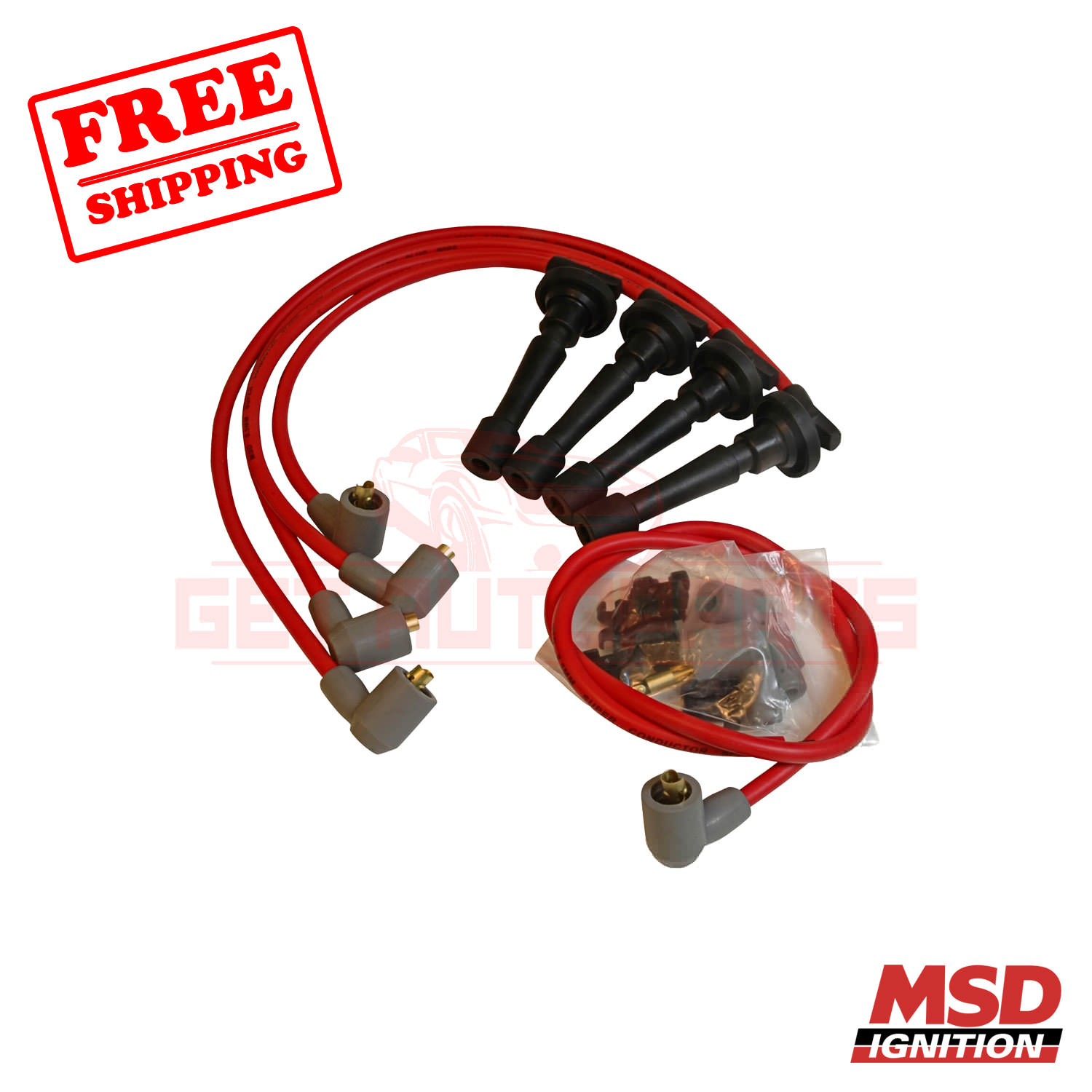 MSD Spark Plug Wire Set For Acura Integra 1990-1997
