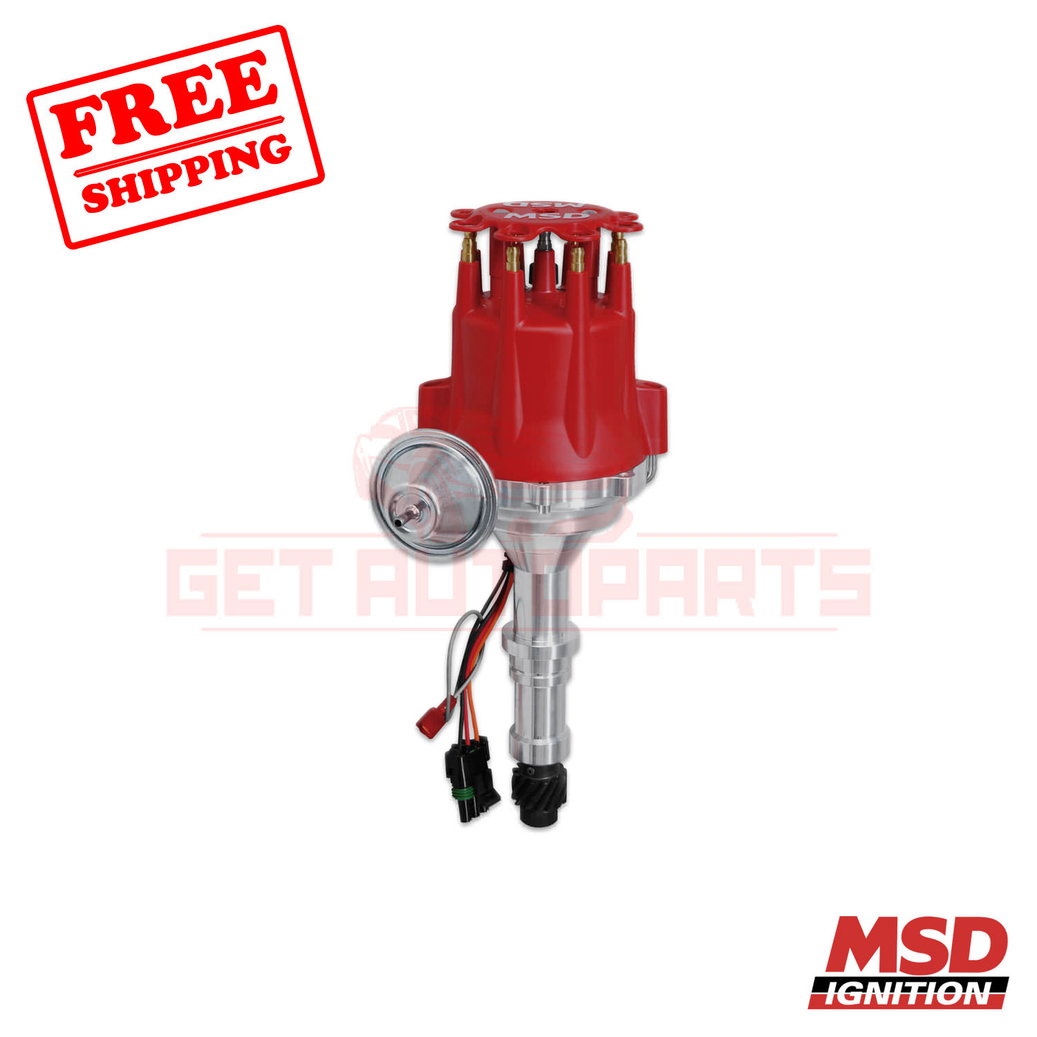 New Ignition Distributor for 1982-1991 Buick Chevrolet Pontiac GMC 2.5L 1103625