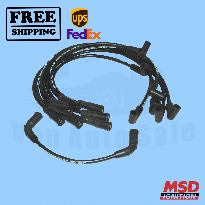 Spark Plug Wire Set MSD for GMC Savana 1500 1996-2004   eBay