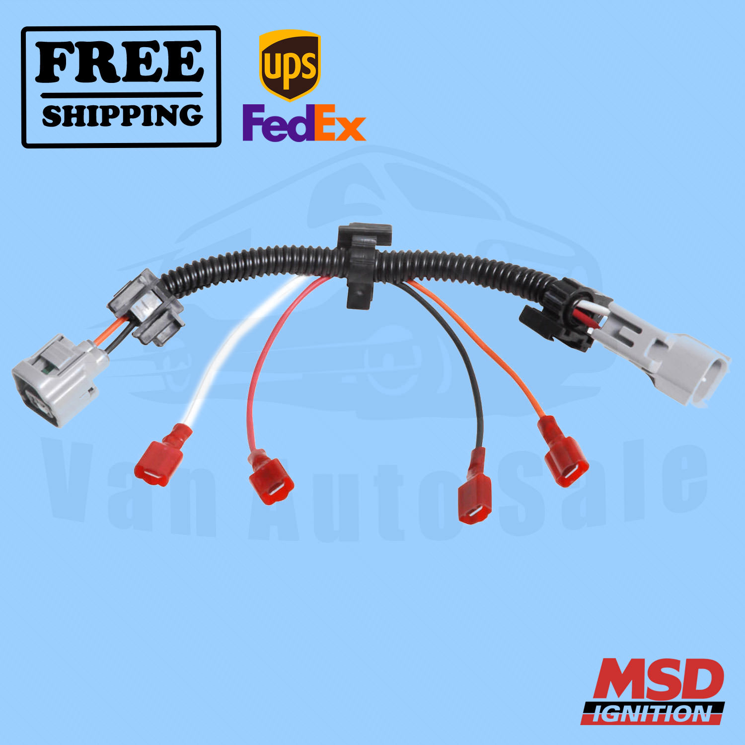 Engine Wiring Harness MSD for Jeep Wrangler 1998-1999 for sale online | eBay | 1998 Jeep Wrangler Wiring Harness |  | eBay