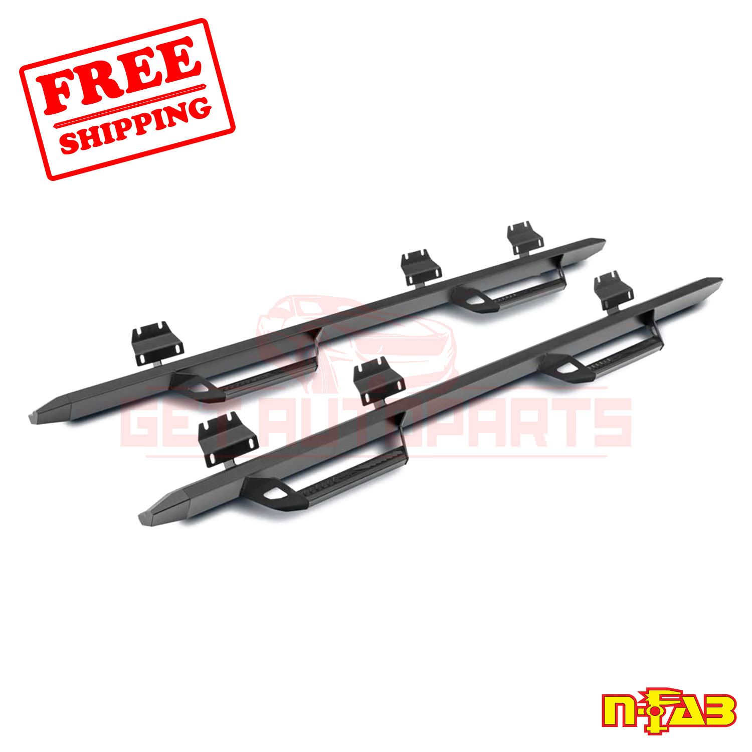 N-FAB Step Nerf Bar Fits For Jeep Wrangler 2018-2019