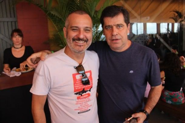 Lírio com amigo (Foto: Zeca Santos)
