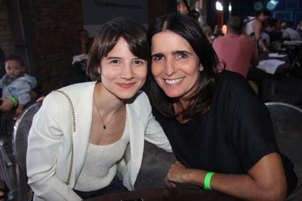 Bianca Comparato e Malu Mader (Foto: Zeca Santos)