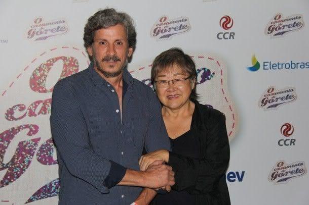 Tizuka Yamasaki e Paulo Vespúcio Garcia (Foto: Zeca Santos)