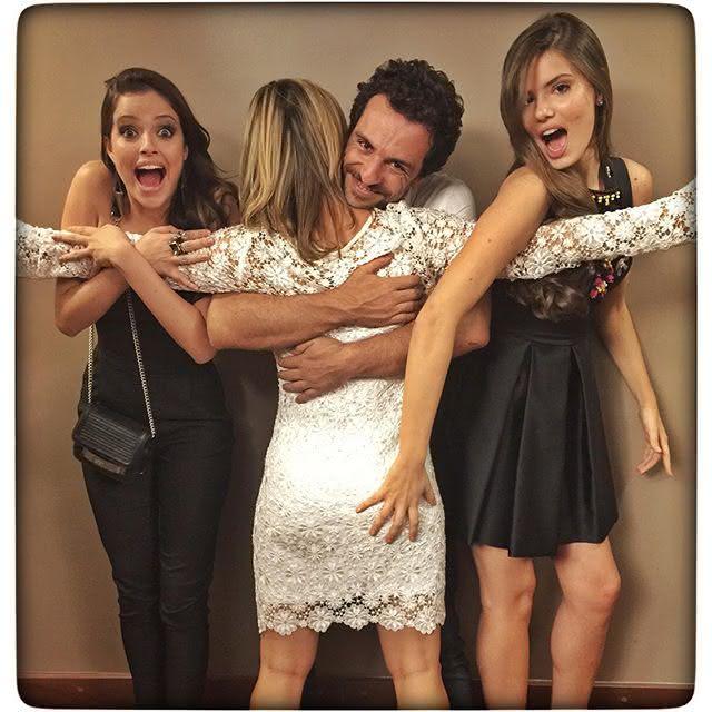 Agatha Moreira, Guilhermina Guinle, Rodrigo Lombardi e Camila Queiroz se despedem dos personagens