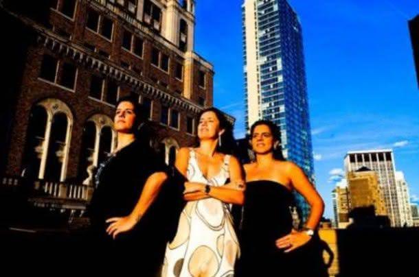 As sócias na produtora Inffinito: Cláudia Dutra, Viviane Spinelli e Adriana Dutra (Foto: Divulgação)