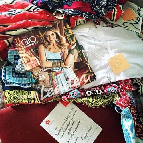 No fim de semana, Giovanna Antonelli comemorou a chegada de sua coleção para a Leader, que já está nas lojas (Foto: Reprodução Instagram)