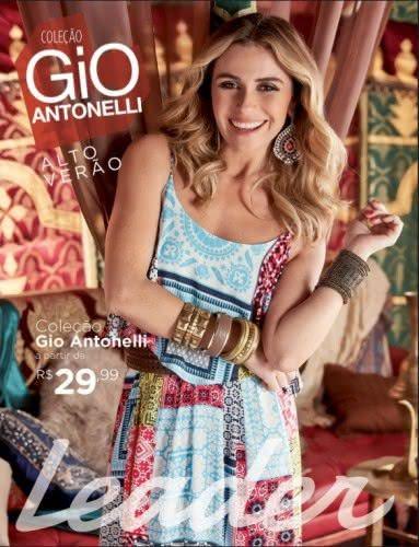 Leader desenvolve coleção de Alto-Verão com a assinatura de Giovanna Antonelli