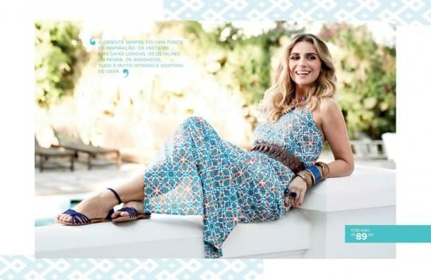 """Giovanna Antonelli sobre sua coleção de alto-verão em parceria com a Leader: """"Fiquei deslumbrada com as cores e diversidade do Marrocos"""""""