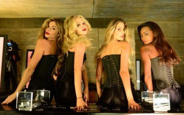 Grazi Massafera, Rhaisa Batista, Yasmin Brunet e Jéssica Córes como as tops da agência Fanny Models (Foto: Reprodução)