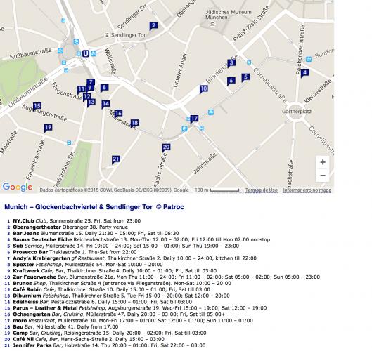 Mapa de bares gay de Charlotte