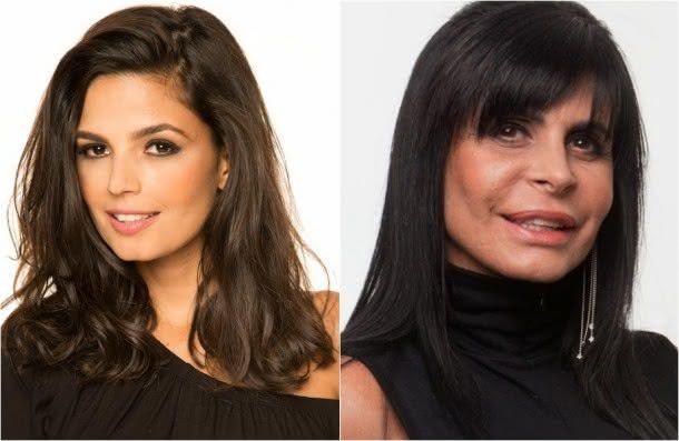 Emanuelle Araújo vai viver Gretchen no filme sobre o palhaço Bozo (Fotos: Reprodução)