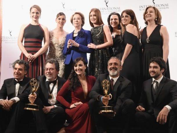 """Elenco de """"Império"""" e """"Doce de mãe"""" vencem o Emmy International (Foto: Reprodução)"""