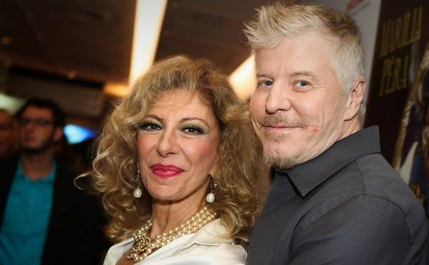 Marília Pêra e Miguel Falabella