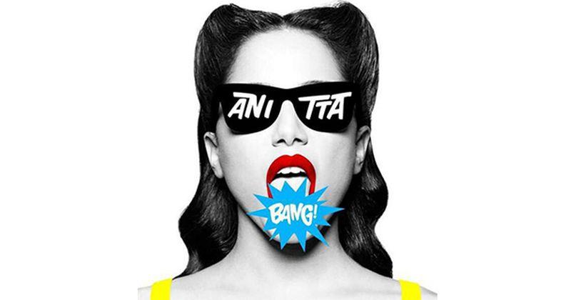 A capa do CD de Anitta (Foto: Reprodução)