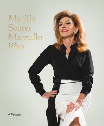 """A capa da fotobiografia """"Marília Soares Marzullo Pêra"""" (Foto: Divulgação)"""