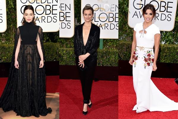 Emilia Clarke, Taylor Schilling e Eva Longoria