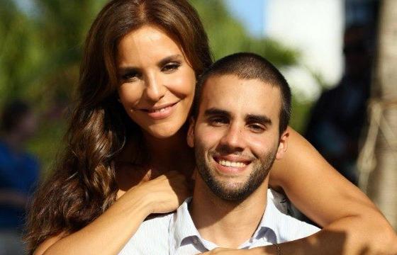 Ivete Sangalo com o marido, Daniel Cady (Foto: Reprodução)