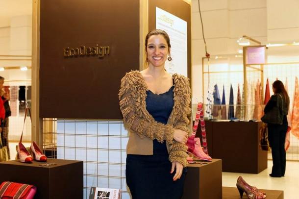 A estilista carioca Isabela Capeto comanda o projeto Ecodesign, no Inspiramais, relativizando o caráter social e ecológico da moda (Foto: Divulgação)