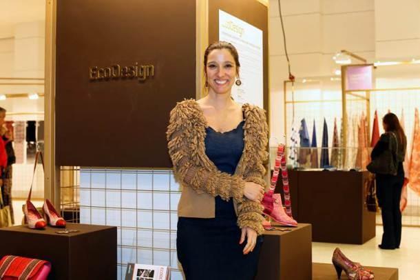 A estilista Isabela Capeto está à frente do Ecodesign (Foto: Divulgação)