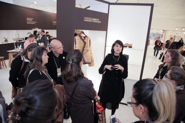 A designer Flavia Vanelli é a responsável pelo Saberes Manuais (Foto: Divulgação)