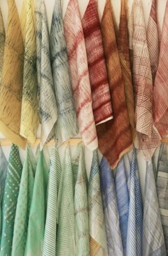 Mix de estampas, cores e tecidos desenvolvidos pelo +Estampa e que será apresentado durante o Inspiramais - o Salão de Design e Inovação de Negócios (Foto: Divulgação)