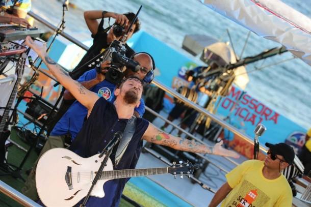 Saulo Fernandes (Foto: Cleomir Tavares)