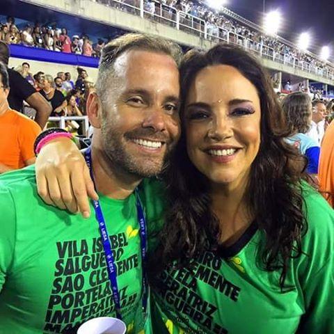 Ana Carolina e Léo Marçal