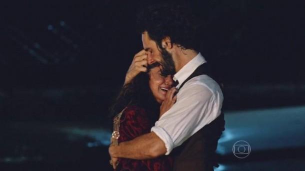 Deu liga: Carol Castro e Rodrigo Santoro (Foto: Reprodução)