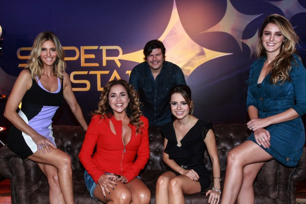 "Elenco do ""Superstar"" se reúne para coletiva no Projac"