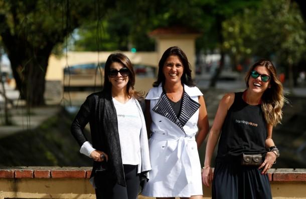 Bia Brasil, Ana Luísa Padua e Jaqueline Cabral, sócias da Jenessequá (Foto: Divulgação)