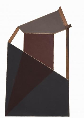 Manfredo de Souzanetto_1984_ 185x107cm_ pigmentos e resina acrílica sobre tela e madeira