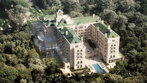 Serão 114 quartos, 59 deles suites, com vista para o parque. | Foto: Divulgação